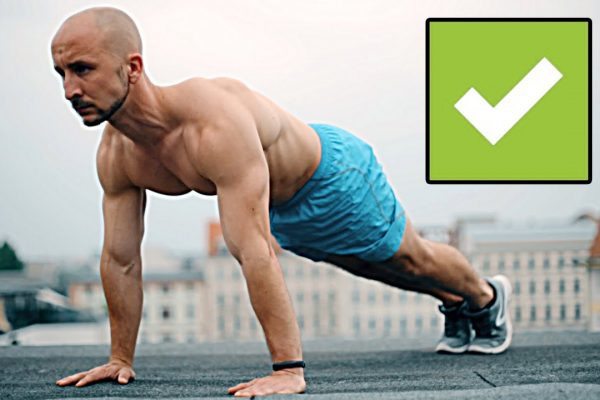 How to do the correct push-up